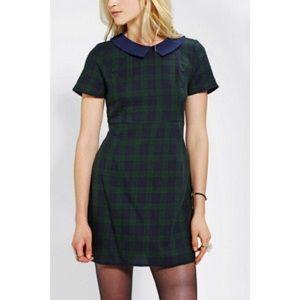 Urban Outfitters - Peter Pan Tartan Dress